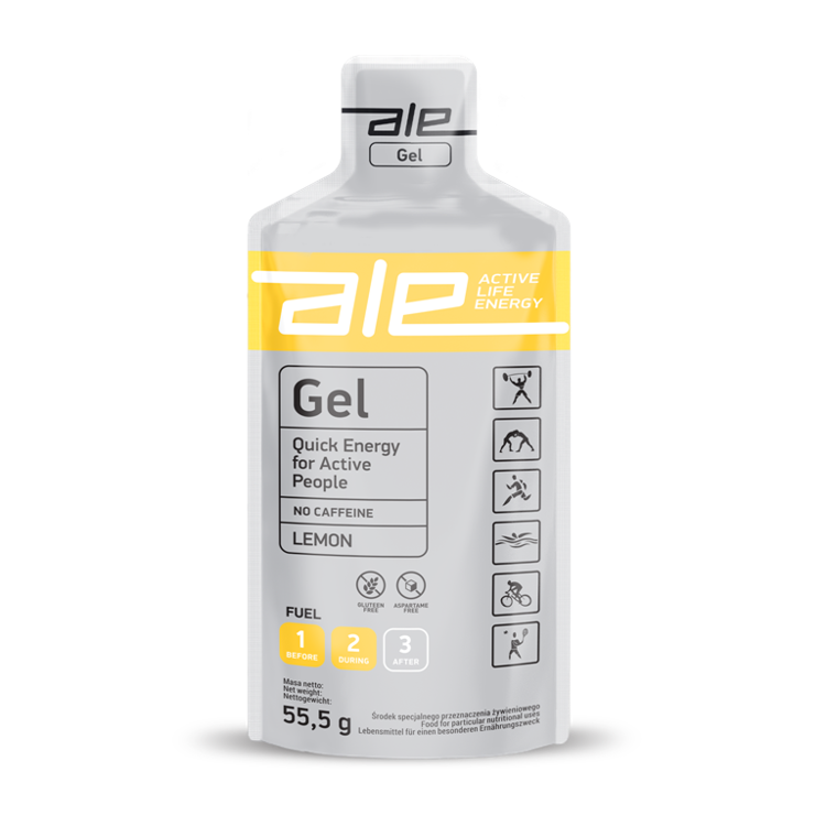 ALE Gel (55,5g) - Energy gel (lemon)
