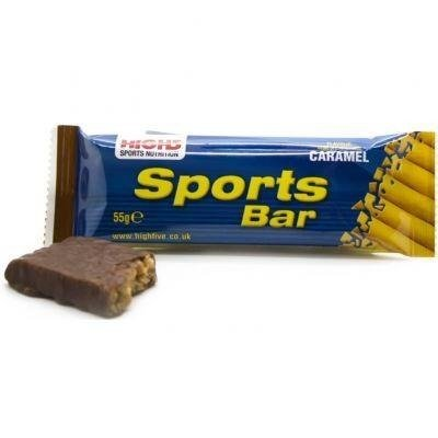 High5 Sports Bar 55g - energy bar (caramel)
