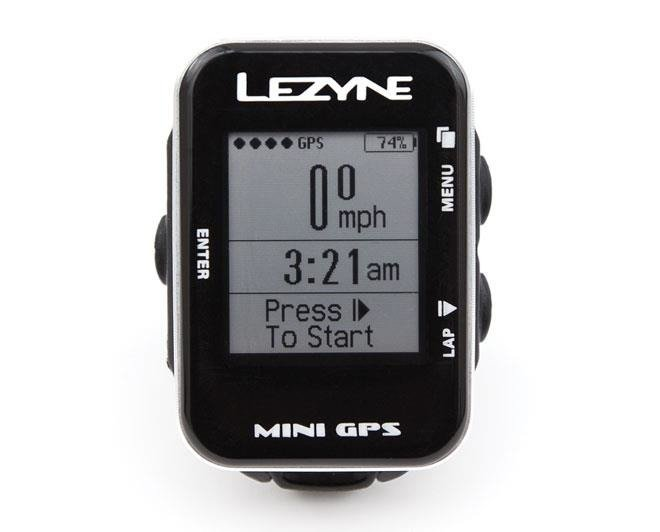 Lezyne Mini GPS - bike computer