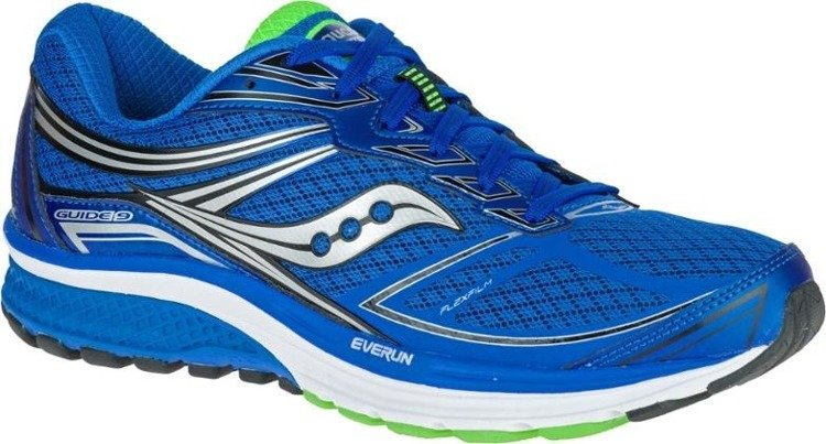 Saucony Guide 9 - women's shoes running gear (blue)