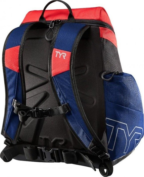 TYR Alliance Team 30L Backpack - Backpack training (black-red-blue)