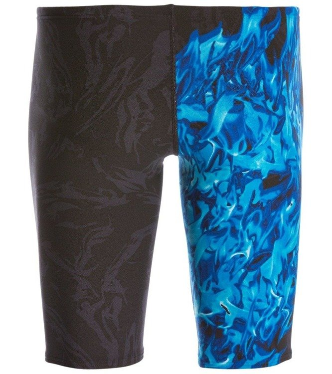Tyr Ignis All Over Jammer - Men's training pants (black and blue)