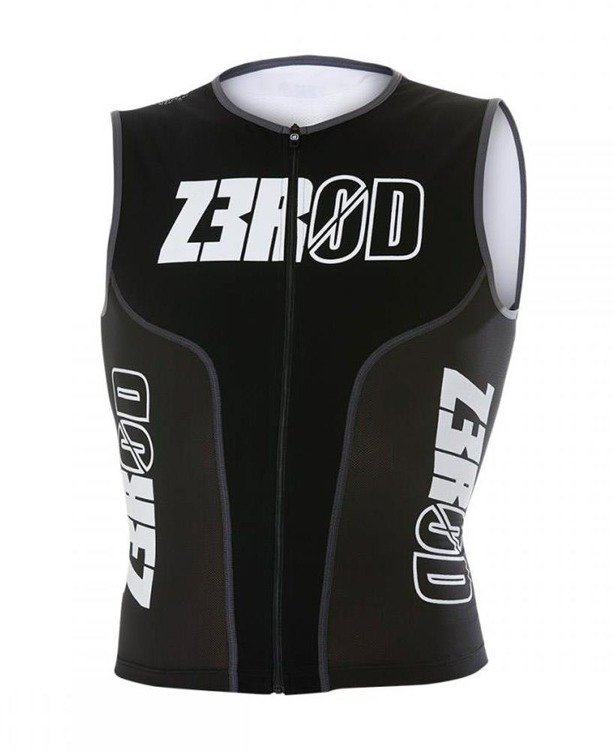 Zerod iSinglet ARMADA - triathlon t-shirt for men (black)